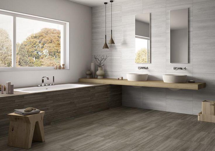 PIASTRELLE VEIN, bagno moderno ceramica gres porcellanato a tutto spessore [AM VEIN B1]