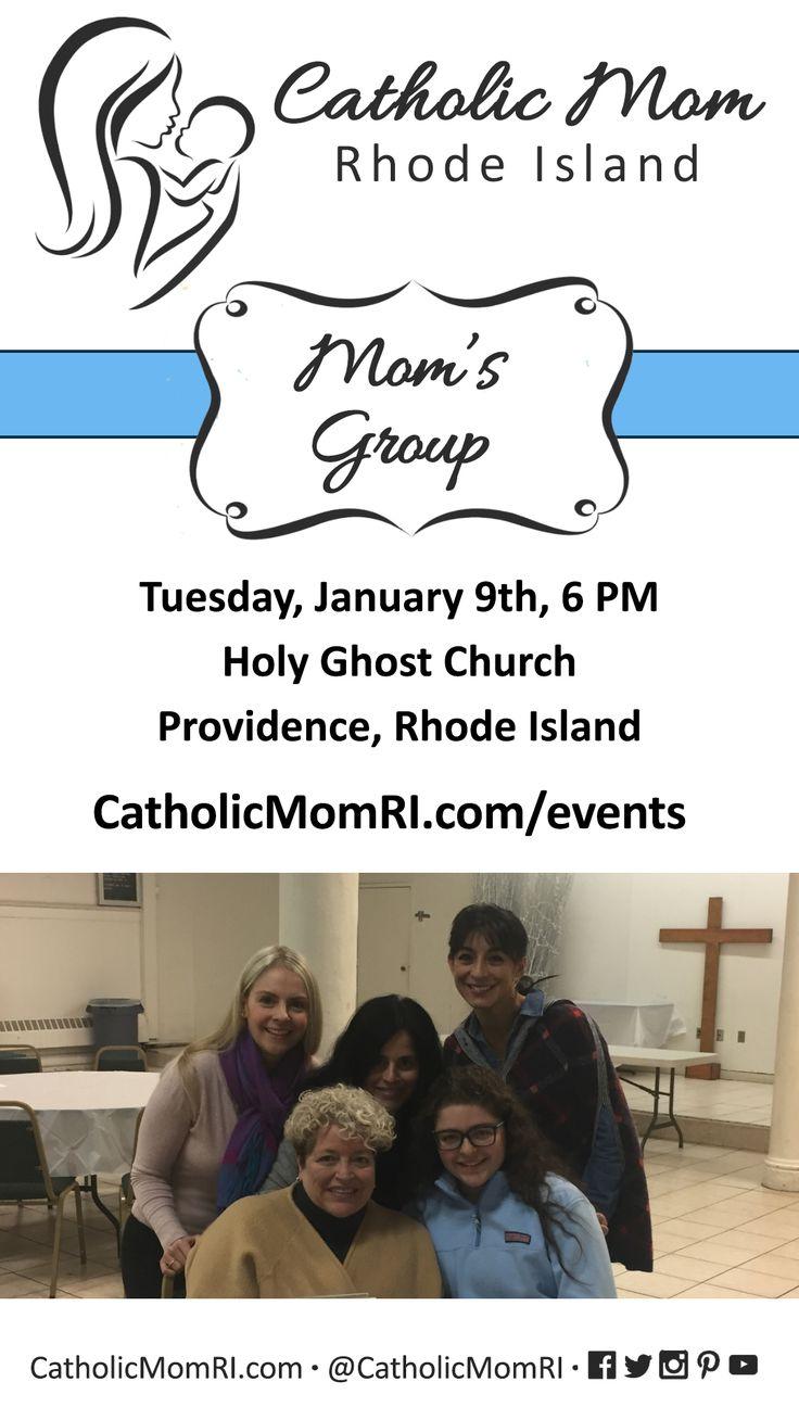Catholic Mom Rhode Island Mom's group. 1/9, 6PM. Sign up today! https://www.eventbrite.com/e/catholic-moms-group-rhode-island-january-9-2018-tickets-41685754213