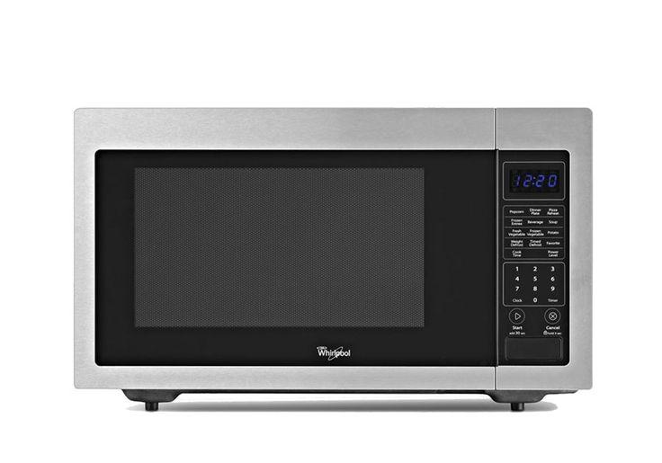 Whirlpool 1200W Stainless Microwave