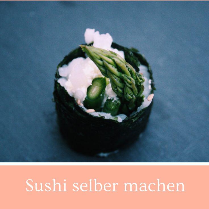 Sushi selber machen, Rezepte, Sushi, vegan, glutenfrei