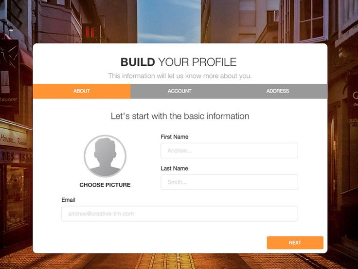 FREE Bootstrap Wizard: very useful for guiding your users through all kinds of forms