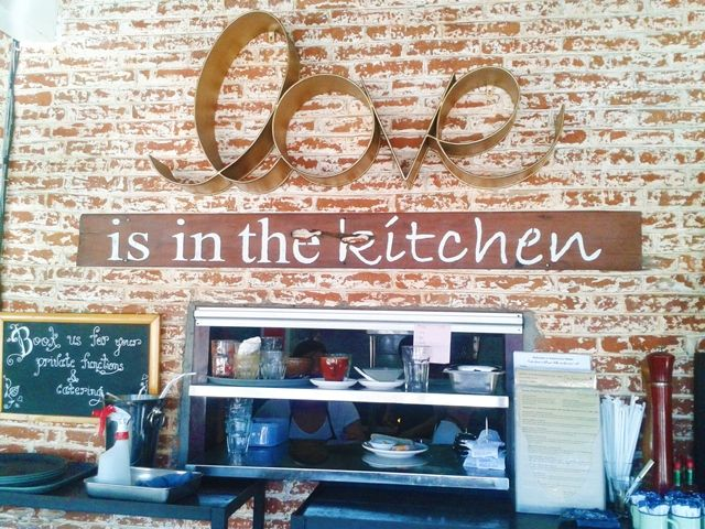 Love is in the kitchen at Watercress, Batu Belig, Bali: brunch hotspot