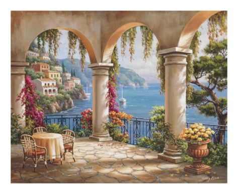 Arched Terrace ~ Sung Kim
