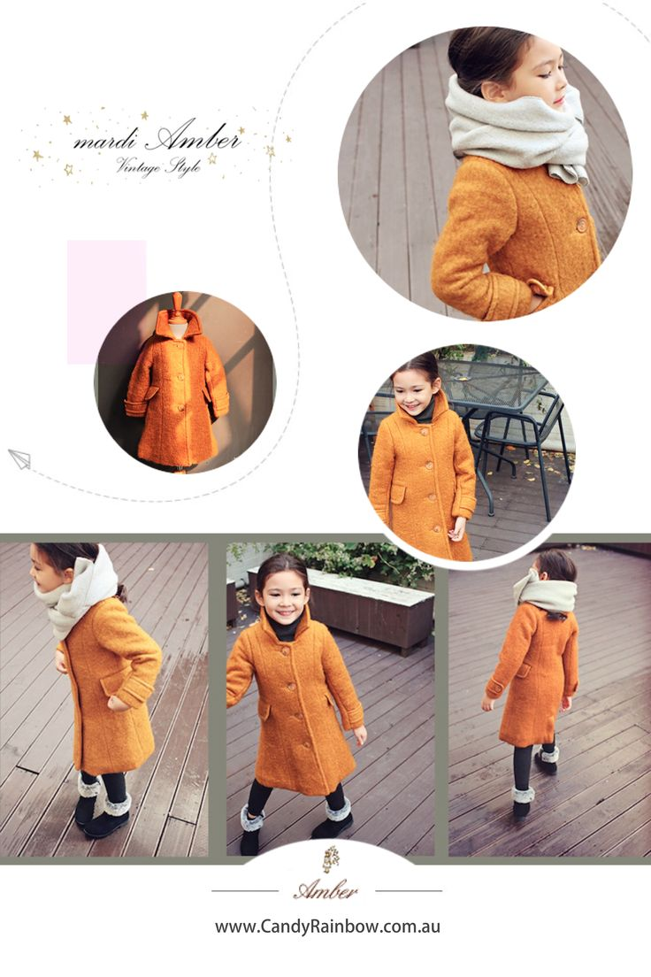 ❄ COLD ❄ Amber's LUA COAT is perfect for the cold season. @candyrainbowau