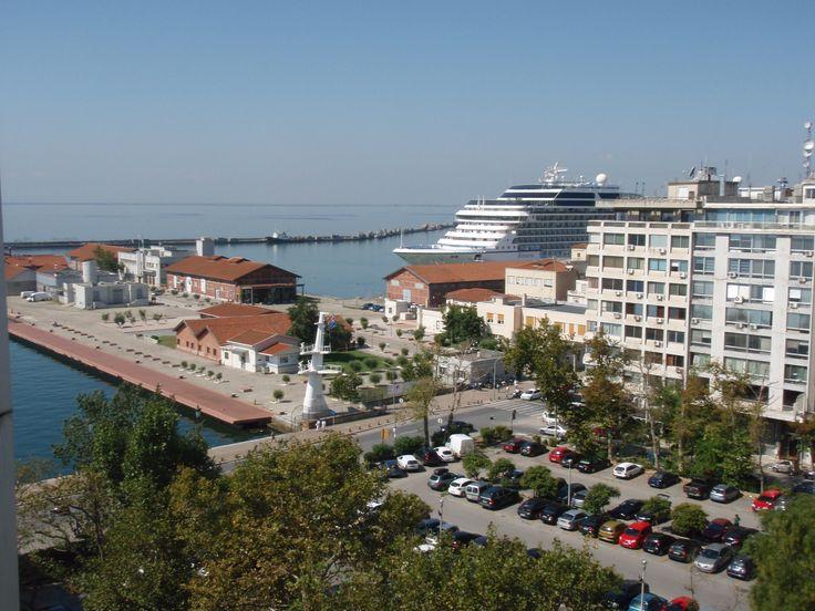 Port view, Thessaloniki