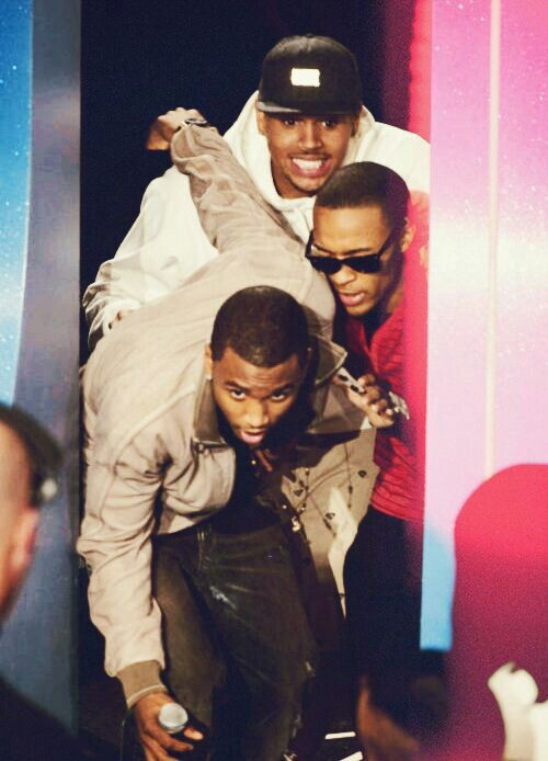 Trey songz, bow wow, & chris brown