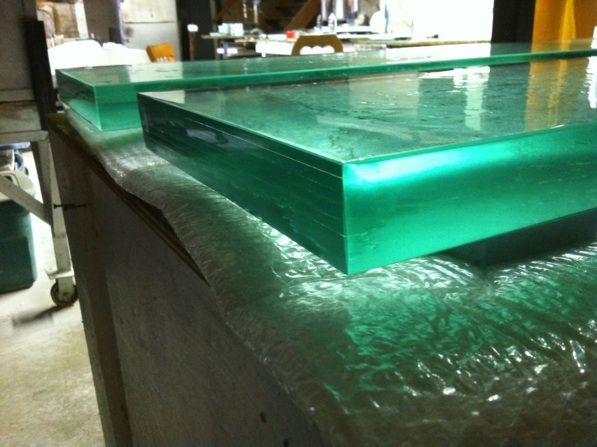 texture verre fusion
