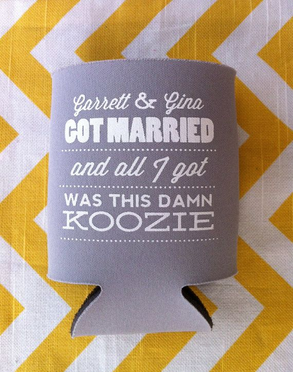 Married And All I Got Was This Damn Koozie Custom By