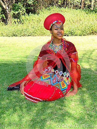 Zulu Maiden Bride