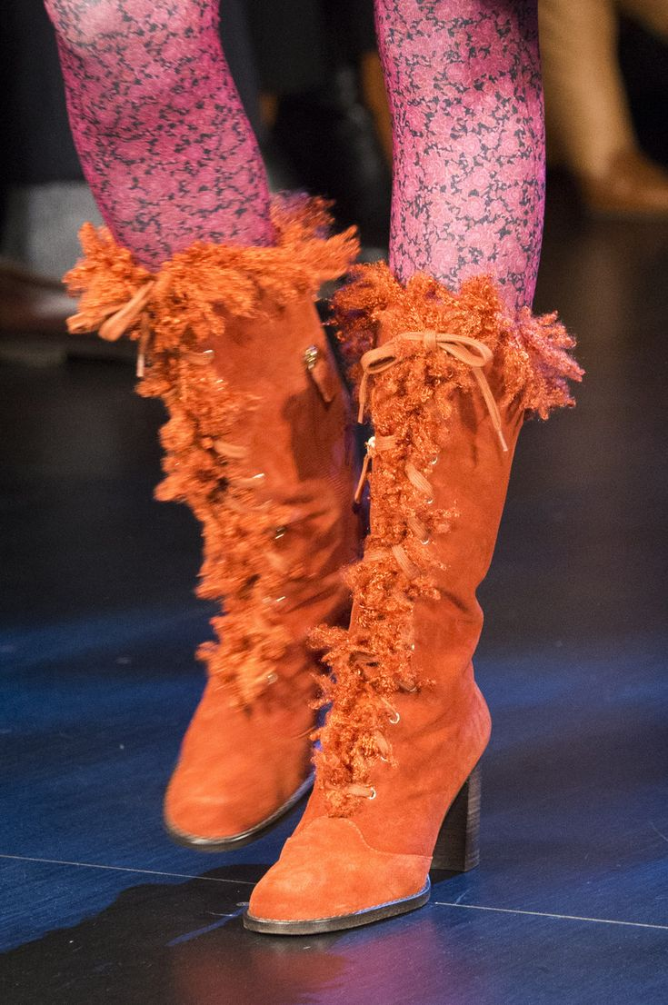 Anna Sui at New York Fall 2017 (Details)