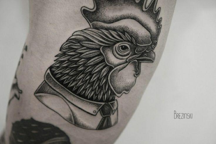 originales tatuajes surrealistas de Ilya Brezinski