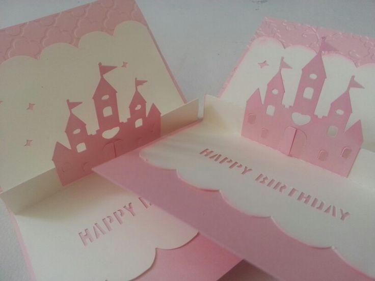 Tarjetas de cumpleaños de princesas Tarjetas Invitaciones Pinterest