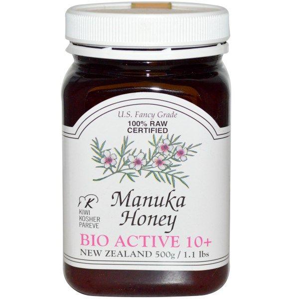 PRI, 100% сырой сертифицированный мед манука, Биологически активное действие 10+, 1,1 фунт (500г) (Discontinued Item)