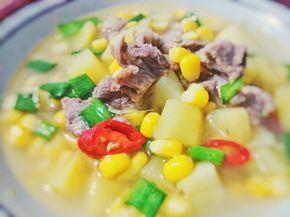 Resep Sup Kentang Daging Sapi