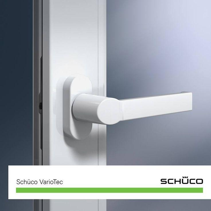 Proteggi la tua #casa da ospiti indesiderati, i sistemi per finestre in #PVC Schüco sono sicuri: la ferramenta VarioTec ha una protezione antieffrazione garantita da chiusure con nottolino a fungo in acciaio temprato e da angolari a prova di scardinamento. Per alcuni profili, come Alu Inside, è inoltre possibile impiegare chiusure di sicurezza fissate a vite in un canale integrato.