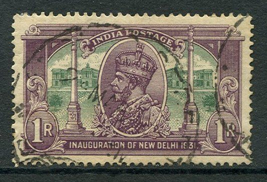 Inauguration of New Delhi 1931 - Postage stamps and postal history of India - Wikipedia, the free encyclopedia