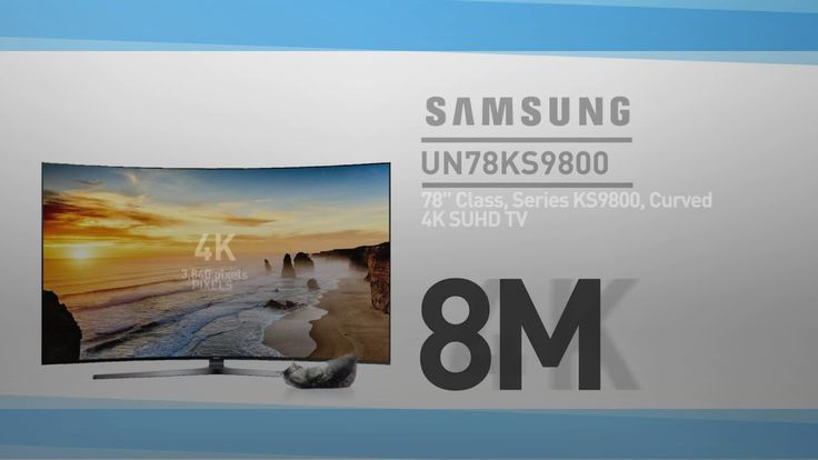 SAMSUNG UN78KS9800 ( KS9800) Curved 4K SUHD TV // Specs TV Review