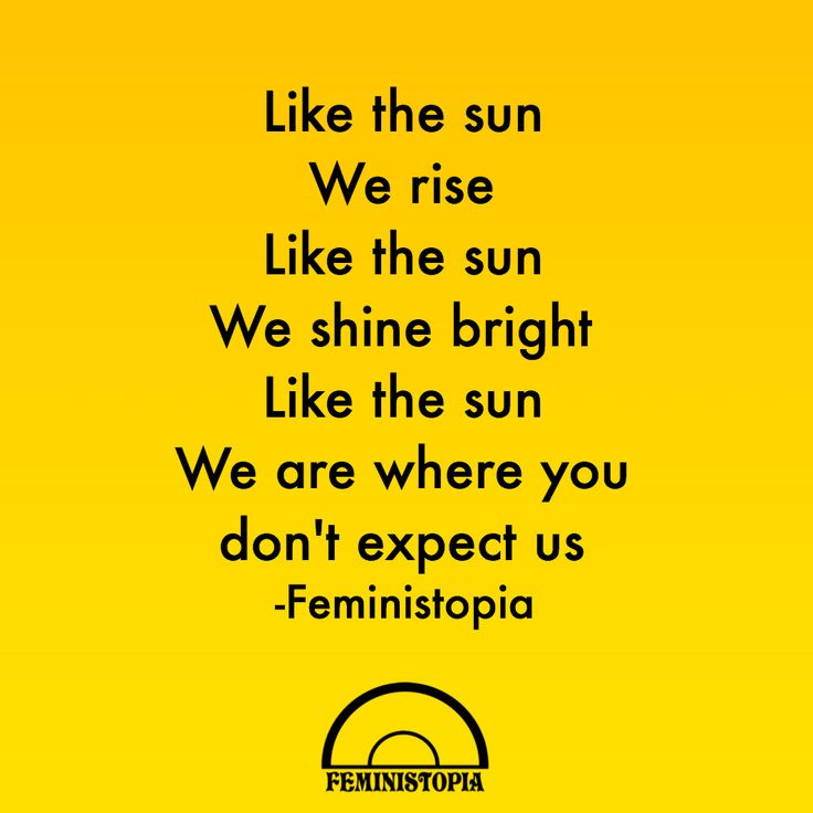 Feminists rising, Feminism back by popular demand, Women's movement still fighting. More original quotes @feministopia