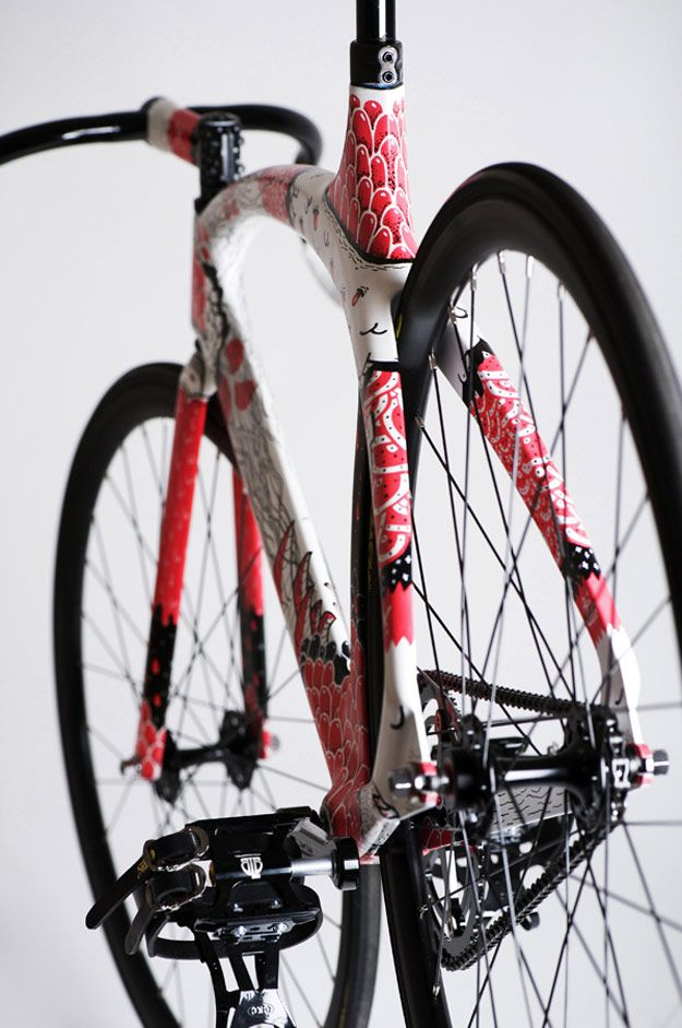 291 best Bicycle Frames & Paint Jobs images on Pinterest | Bicycle ...