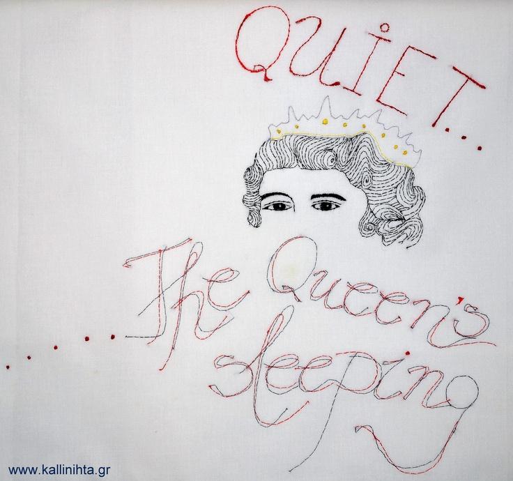 Pillowcase for little Queens ...