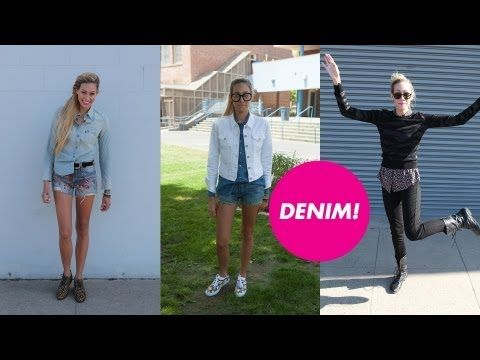 Back-to-School Lookbook: Denim -- Cait Barker and Teen Vogue