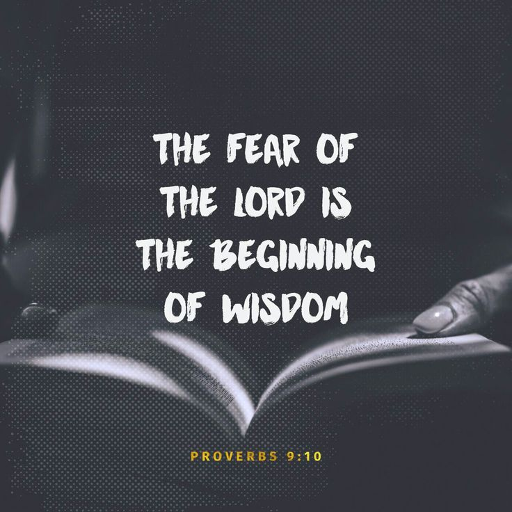 The fear of the Lord is the beginning of wisdom, and the knowledge of the Holy One is insight. http://bible.com/59/pro.9.10.ESV
