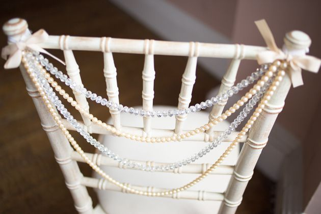 Wedding Stylist, Kirsten Butler aka Little Wedding Helper gives us practical, stylish chair decor inspiration, that won't cost the earth| Bridal Musings