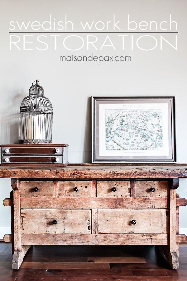 when not to paint furniture | maisondepax.com #diy #restoration #antique