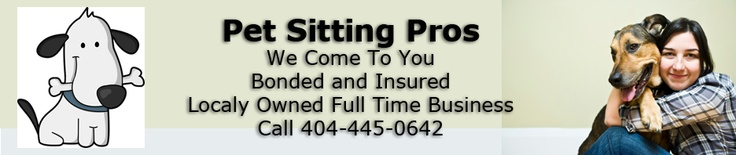 Quality pet sitting in Atlanta. No need to stress your pet