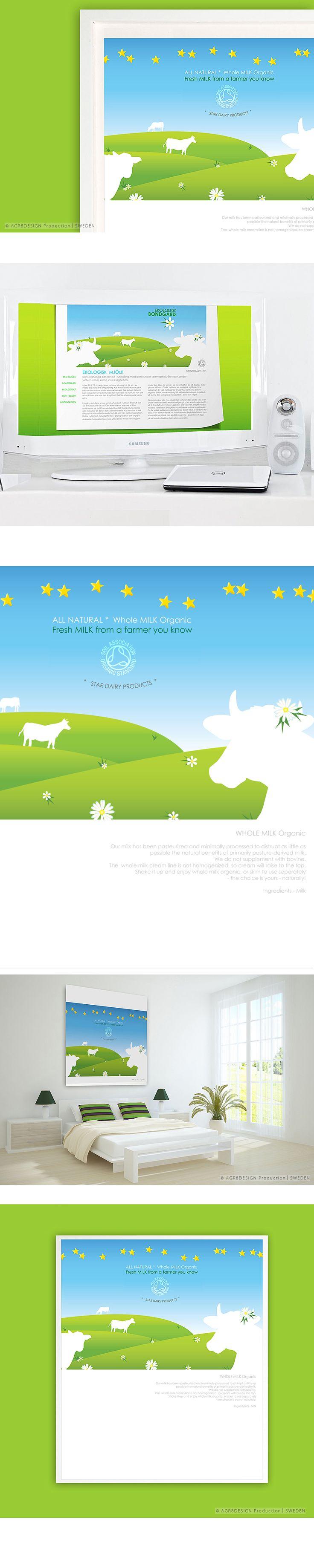 | CASE | ☆ Whole Milk ☆ | Illustration - Poster - Website - Flash - Folder |
