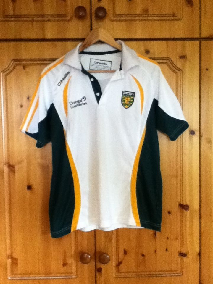 Donegal Gaelic Football Training Jersey Shirt 2014 Small Adult GAA