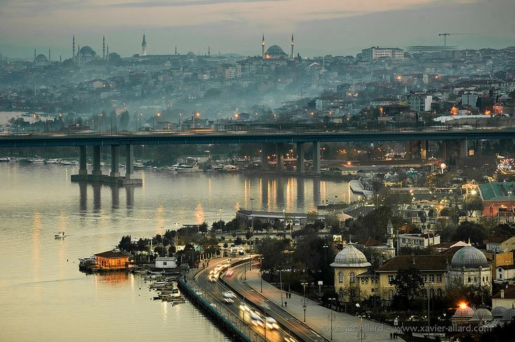 The Golden Horn in Istanbul
