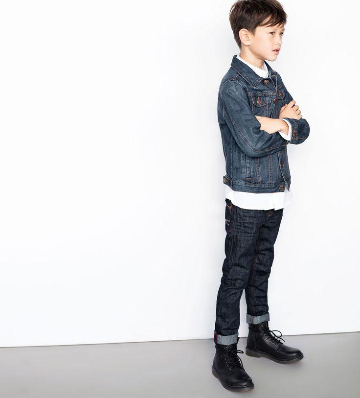 The Denim Look by ZARA Lookbook 2014 #fall #winter #kidswear