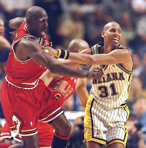 Playoff Intensity, '98 East Finals.