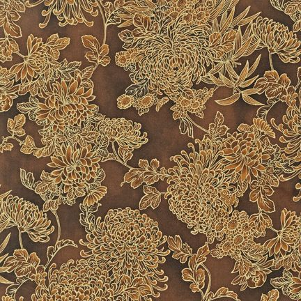 Robert Kaufman -  Imperial Collection 5 ETJM-8935-16 BROWN