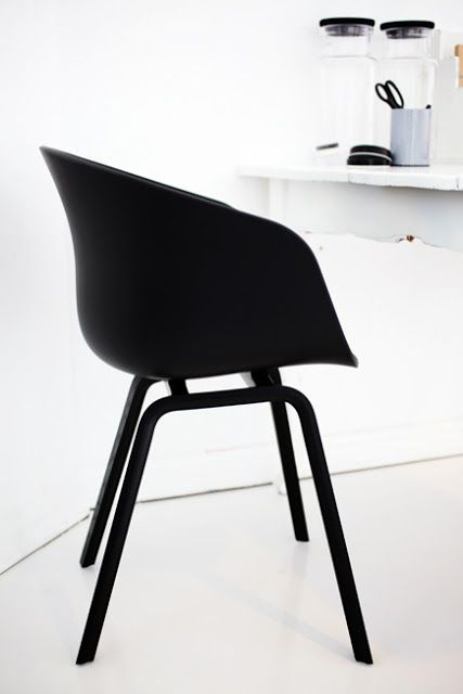 Via Elv's | Hay About a Chair | Home Office | Black and White
