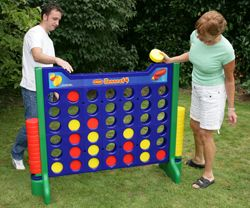 Giant Connect Four game.