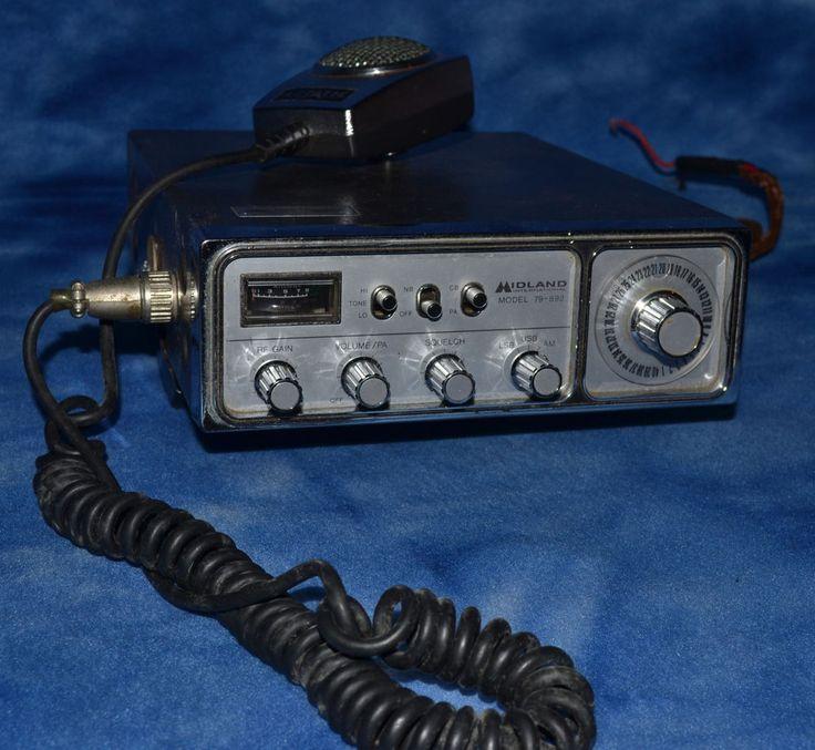 Midland CB Radio Model 79-892, AM SSB D104 Microphone Extra channels #Midland