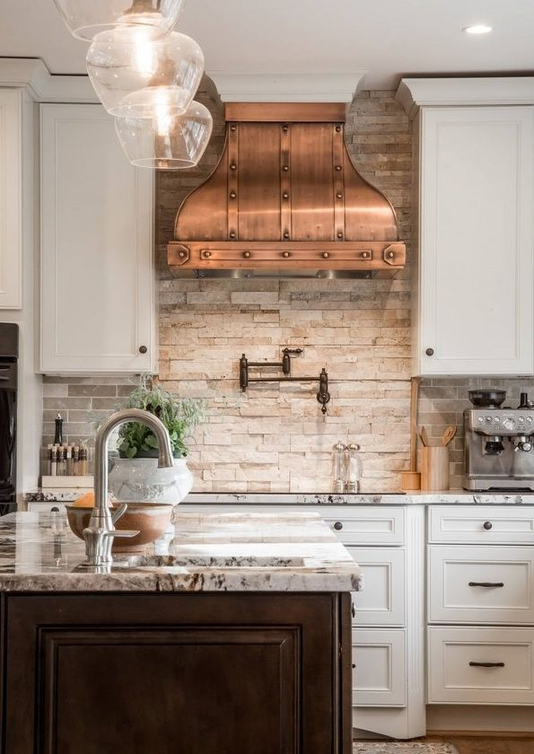 Backsplash Ideas 17 Ways To Make A Fabulous Kitchen One Brick At A Time French Country Kitchens Country Style Kitchen Country Kitchen