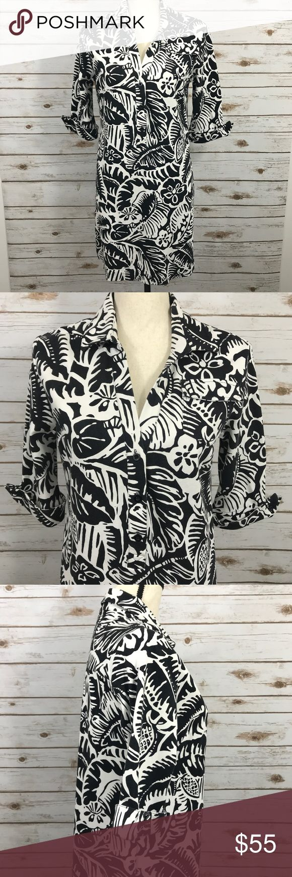 Tori Richards Honolulu Shirt Dress Hawaiian 6 Tori Richards Honolulu Shirt Dress Button Down, Half way  Size 6   Measures  Chest: 18 1/2 inches from armpit to armpit laying flat Length: 34 inches long from top of shoulder to hemline  Material : 80% rayon, 16% nylon, 4% spandex  / Heavy Material Like a jersey knit.  DRY CLEAN ONLY  Thank you for looking, please check out the rest of my closet and send me an offer! Tori Richards Dresses