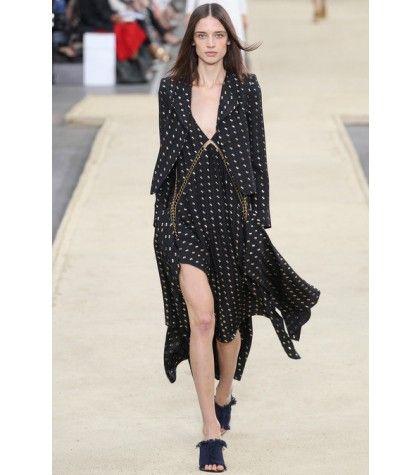 #chloe - metallic-jacquard blazer