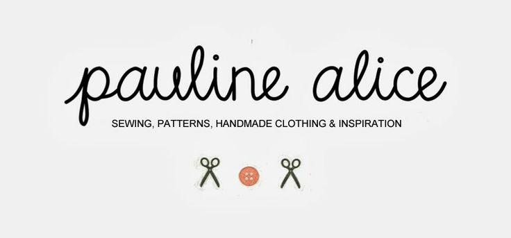 pauline alice - Sewing patterns, tutorials, handmade clothing & inspiration