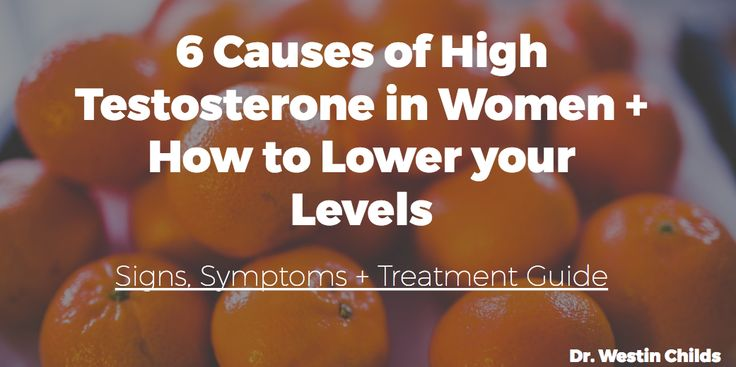 Hair loss, weight gain and acne - all can be caused by high testosterone in women. Find out the most common causes plus how to lower your levels today.