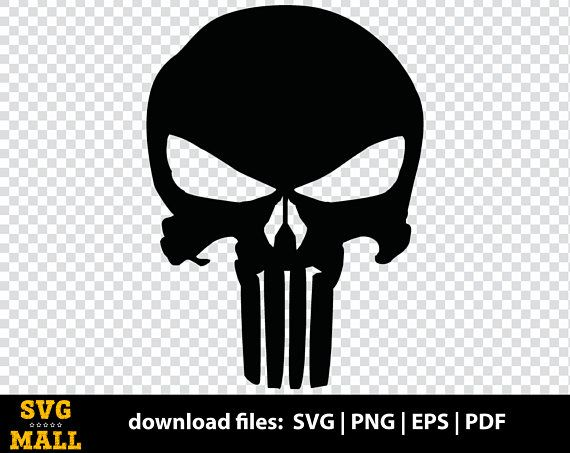 Punisher Skull Svg Punisher Skull Eps Punisher Skull Png Svg Eps