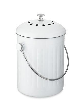 our countertop canister holds food scraps u2013 and minimizes their odors u2013 until theyu0027re transferred to an outdoor compost bin