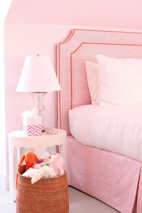 White and Pink Girl's Room, Transitional, girl's room, Cynthia Brooks Design
