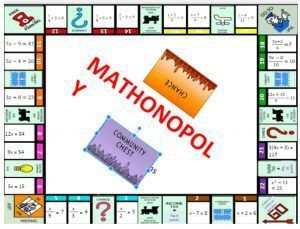 Mathonopoly - Solving Equations Game - Mama Teaches Middle School
