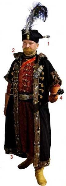 Меховая шапка шляхтича фото