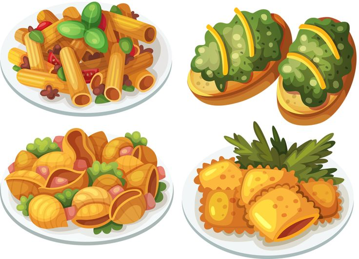 download food clip art free clipart of delicious foods - 736×531