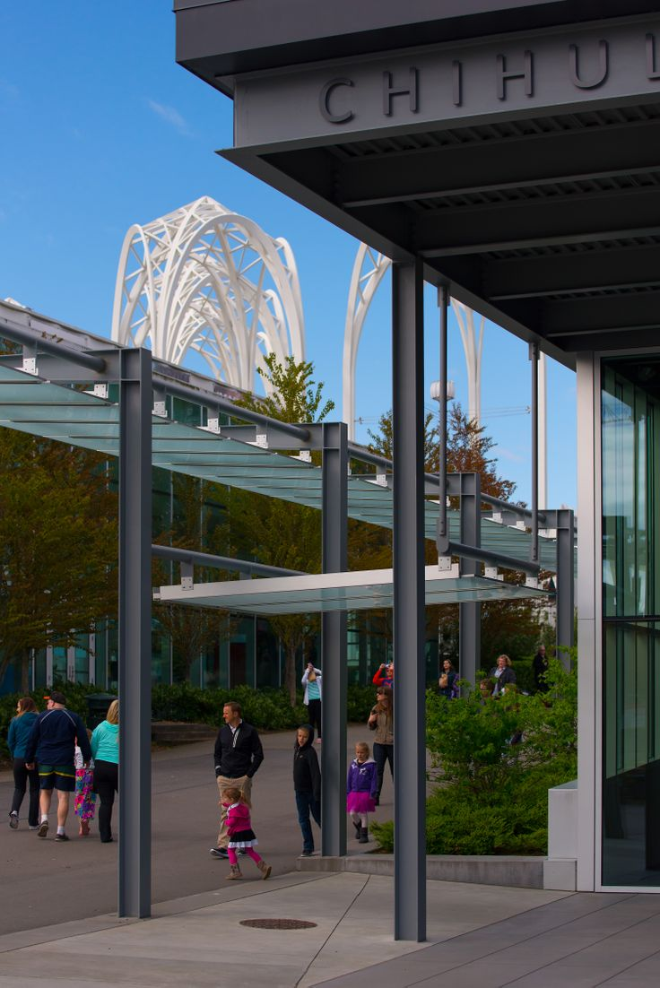 Chihuly Garden and Glass Museum in Seattle #blurrdMEDIA #architecture #photography